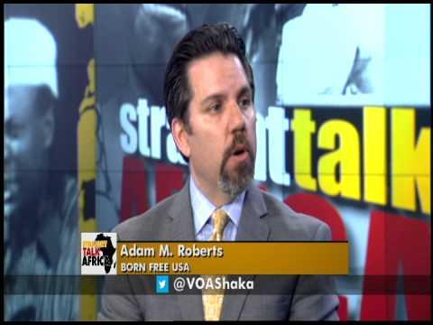 Straight Talk Africa Guest Adam Roberts of Born Free USA ...