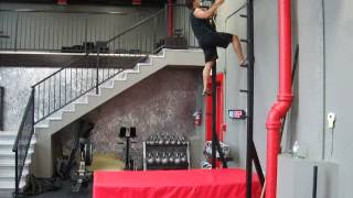 Salmon Ladder In Action At 360 Fitness - Red Deer Personal Training Center
