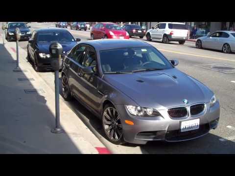 BMW M3 sedans Black & Grey in Hollywood e90's