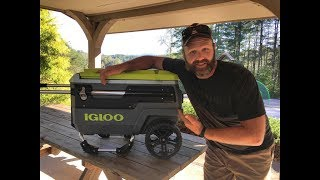 Not a Yeti..not a knockoff..The coolest and most versatile tailgating cooler I've ever seen by Igloo