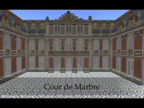 Chateau de Versailles in Second Life 2011