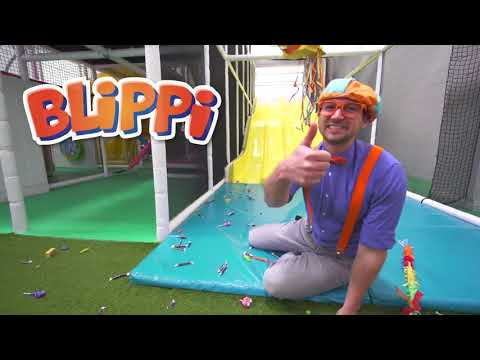Blippi Toys! Learn Emotions With Blippi At The Play Place Learn Colors And More!