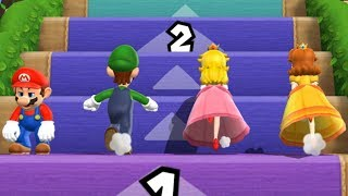 Mario Party 9 - Step It Up - Mario VS Luigi VS Peach VS Daisy (Master Difficulty)