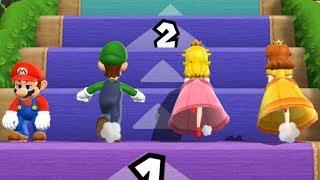 Mario Party 9 - Step It Up - Mario VS Luigi VS Peach VS Dais...