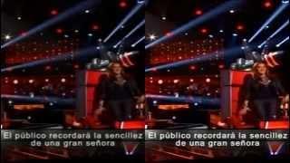 PALOMA NEGRA Y BASTA YA  jenni rivera la voz mexico