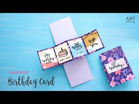 DIY Pop-up Greeting Card | Handmade Greeting Cards