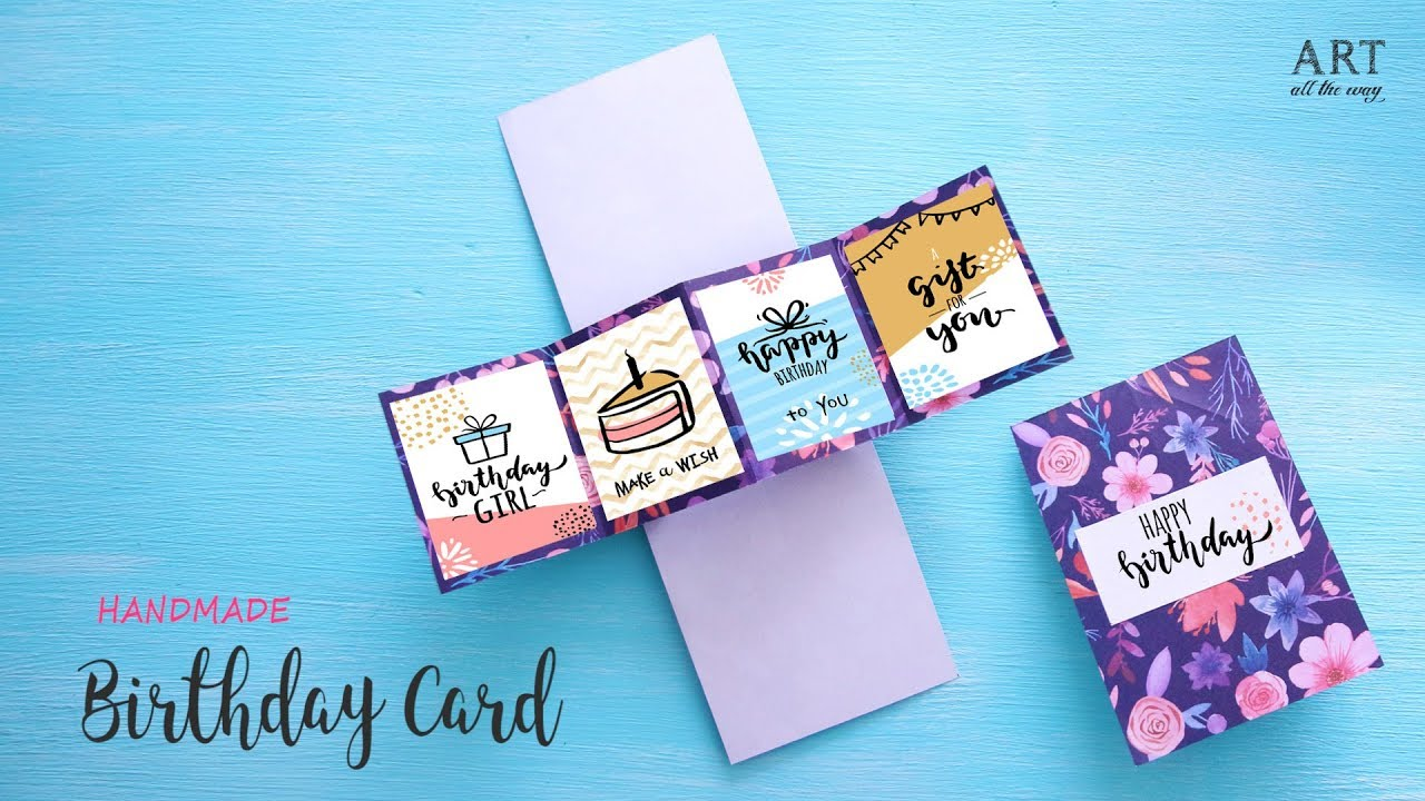 DIY Pop Up Greeting Card