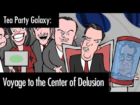 Tea Party Galaxy: Voyage to the Center of Delusion