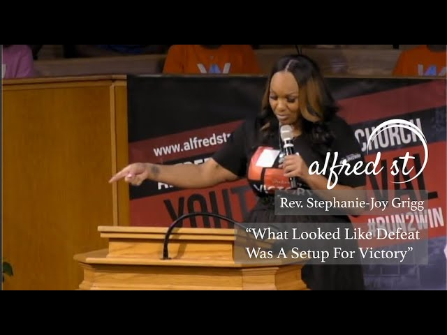 "September 13, 2019 | ""What Looked Like Defeat Was A Setup For Victory"" 