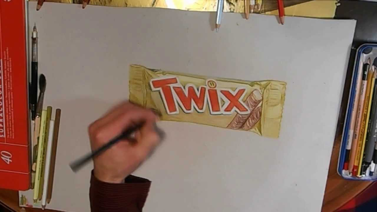 Uncategorized How To Draw Candy Bars drawing twix chocolate bar speed by riestra youtube