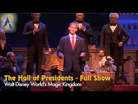 The Hall of Presidents - Full Show starring Obama at Disney's Magic Kingdom