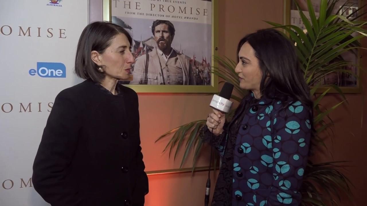 Armenia TV (Australia) - NSW Premier Gladys Berejiklian on The Promise