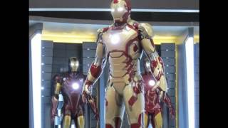 Comic Con 2012: Iron Man 3 Armor and more!