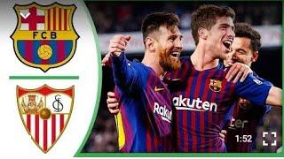 Barcelone vs Séville 6-1 Résume et Buts - All goals highlights 30-01-2019