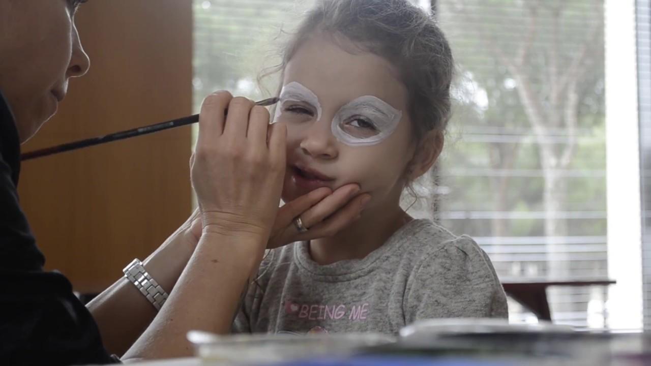 Eğlenceli Yüz Boyama Kaplan çocuk Makyaji Youtube