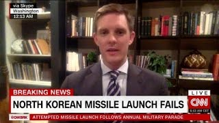 Analyst react to failed North Korean missile launch
