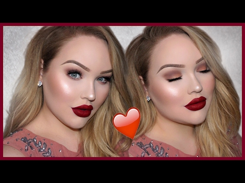 Classic Matte Valentine S Day Makeup Tutorial Youtube