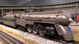 mth 20th century limited streamlined passenger set new york central