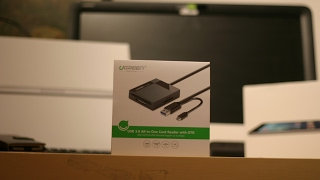 UGREEN USB 30 all in one Cardreader  unboxing  FHD
