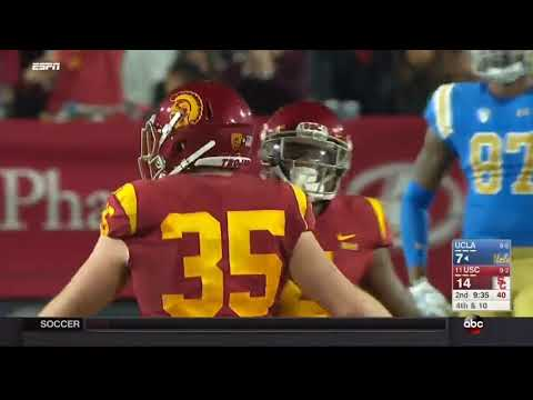 USC Football: USC 28, UCLA 23 - Highlights (11/18/17)