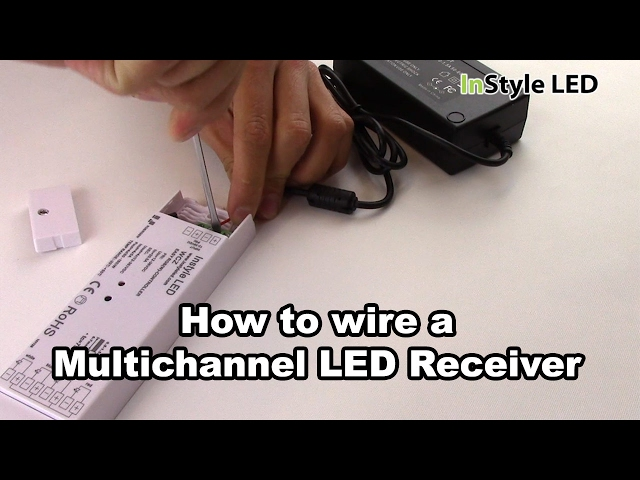 How to set up a Multichannel LED Receiver