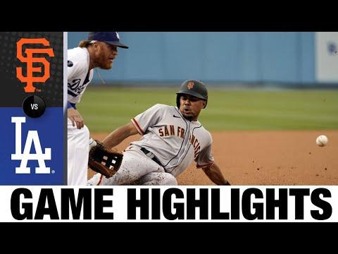 Giants vs. Dodgers Game Highlights (7/22/21) | MLB Highlights