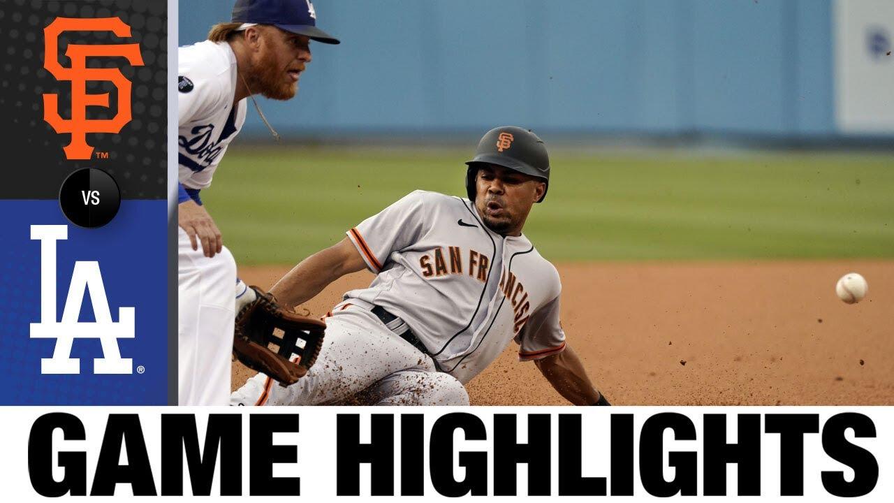 Download Giants vs. Dodgers Game Highlights (7/22/21) | MLB Highlights