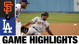 Giants vs. Dodgers Game Highlights (7/22/21)