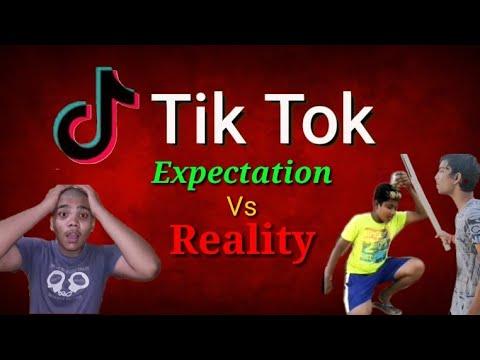 Tik Tok (EXPECTATION VS REALTY) | Tik Tok Comedy video | Spoof |Dramatic humour