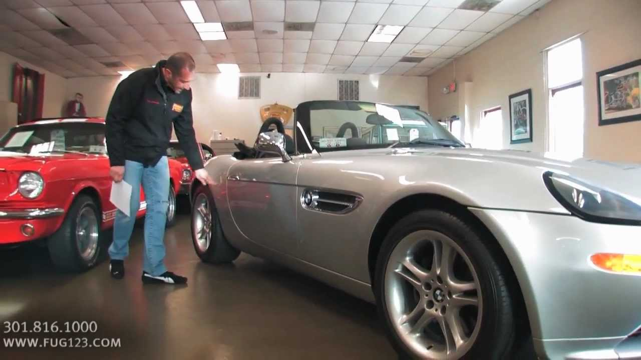 2001 BMW Z8 Roadster for sale with test drive, driving sounds, and ...