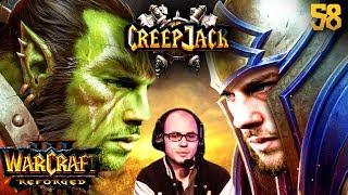 Florentins Umstieg auf Nachtelfen | Creepjack: Warcraft 3 Reforged #58 mit Florentin & Kevin Schwehm