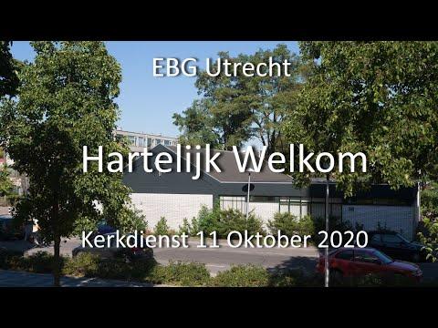 EBG- Utrecht Dienst 11 oktober 2020