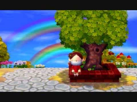Animal crossing new leaf town tree youtube for Animal crossing new leaf arredamento