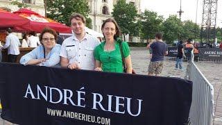 ANDRE RIEU LA BUCURESTI - PRIMUL CONCERT IN ROMANIA