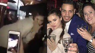 Selena gomez twerks on a table at texas bar!
