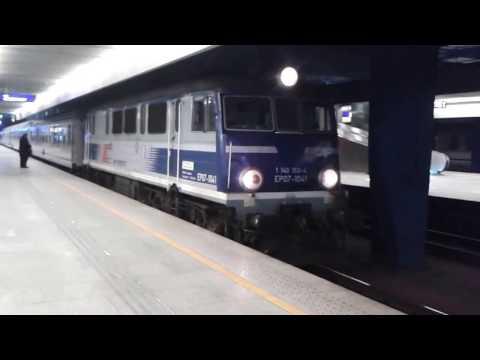 """TLK 12011/68 """"Kiev Express""""; Warszawa Centralna 13/02/2017"""