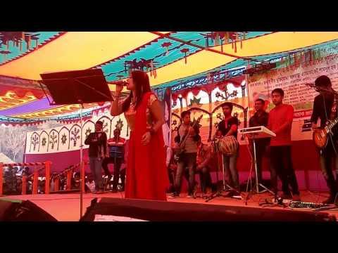 Modhu Hoi Hoi Bish Khawaila- A nice dance and music 2017