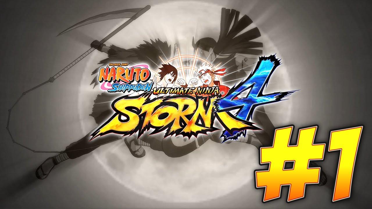 THE FOURTH GREAT NINJA WAR!   Naruto Shippuden: Ultimate Ninja Storm 4  (PART #1)