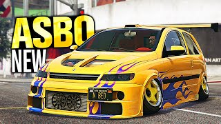GTA 5 Online - NEW Maxwell Asbo Customization! (Corsa C - Diamond Casino Heist)