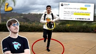 Training for MrBeast $100,000 CIRCLE CHALLENGE!!