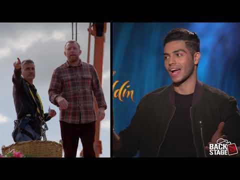 ALADDIN: Behind The Scenes With Guy Ritchie, Mena Massoud & Naomi Scott