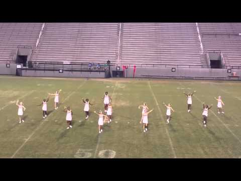2015 Beverlye Middle School (Dothan, AL) Cheer Halftime Show