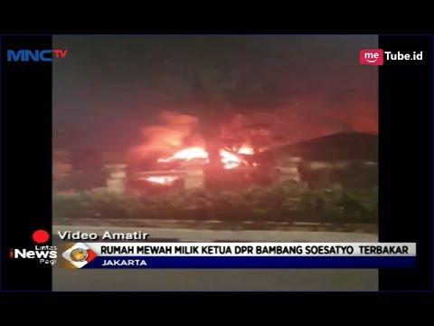 Rumah Bambang Soesatyo Kebakaran, Kobaran Api Diduga Berasal dari Korsleting Listrik - LIP 18/02