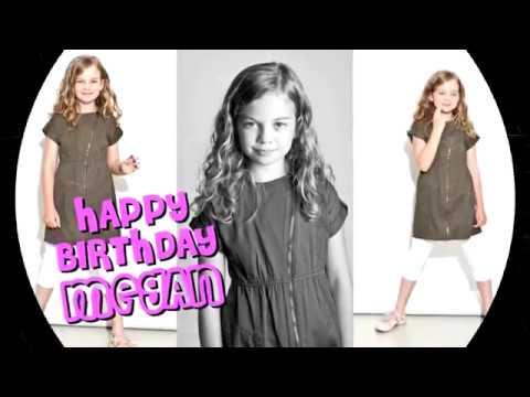 Happy Birthday Megan Charpentier