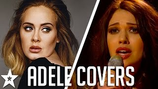 Adele's Got Talent! Best ADELE COVERS on Got Talent!