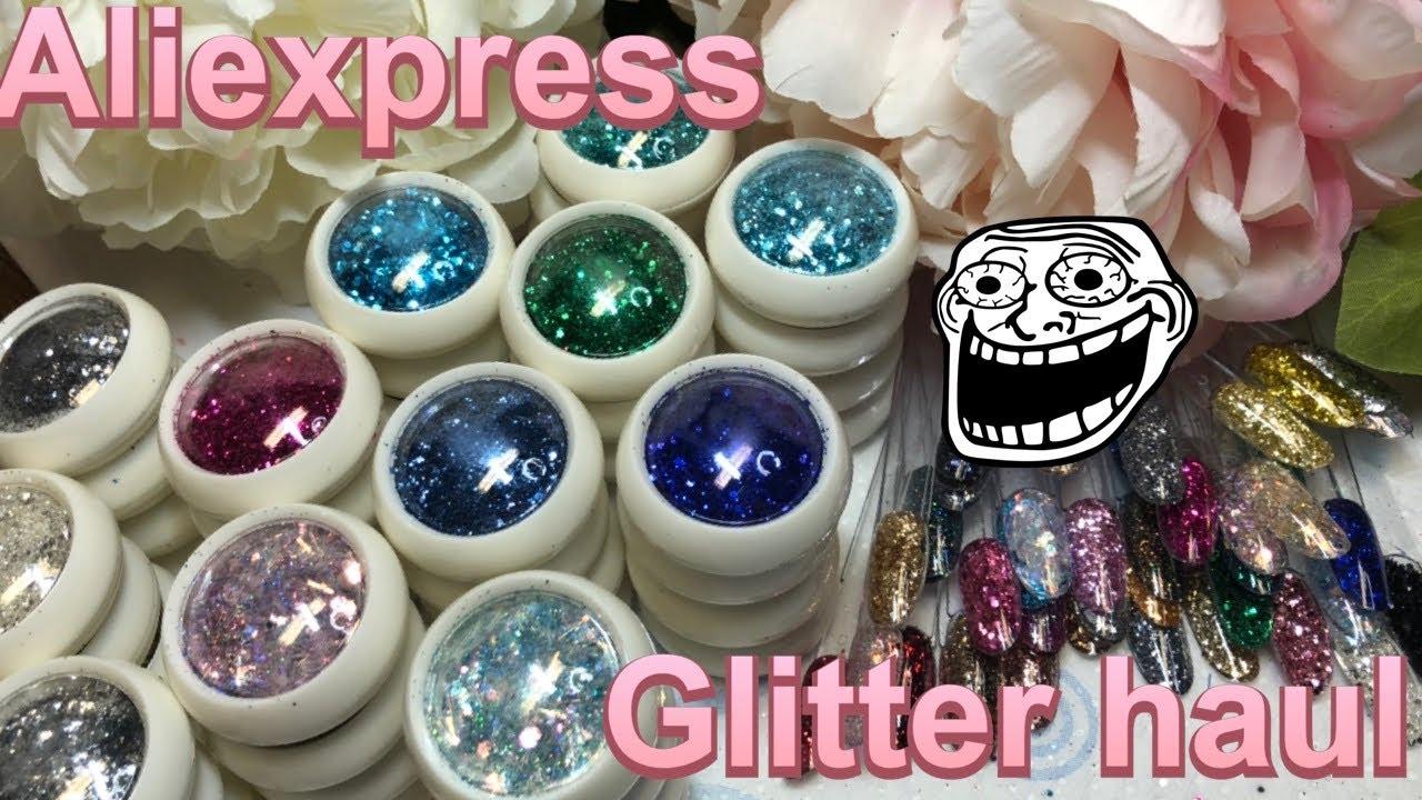 Aliexpress Haul Huge Glitter Haul cheap Glitters