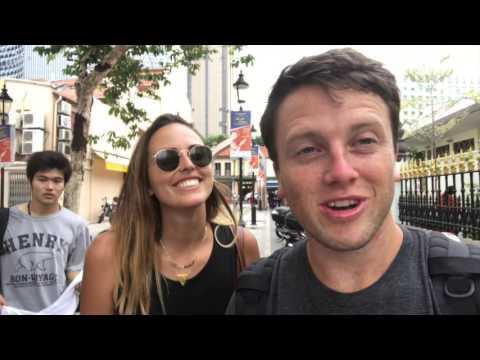 Singapore Travel Vlog: Folan Finds Trip Around the World Day 71