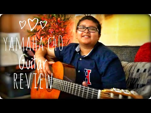 Yamaha C40 full size nylon-string classical guitar unboxing & review