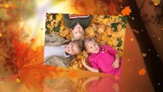 Фото детей осенью на природе.Красивые фото маленьких детей