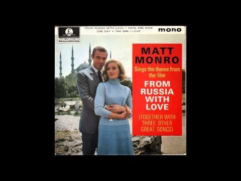 """Matt Monro: 'From Russia With Love' - Original 45"""" single version (Mono)"""
